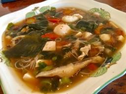 Mixed Sea-Vegetables Miso Soup